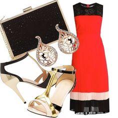 Quiz vestito bianco oro perfume