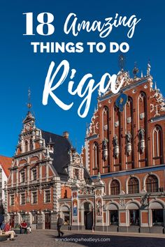 18 Amazing Things to do in Riga, Latvia. Looking for the best things to do and see in Riga? This complete list will take you to all of them including the House of the Blackheads, Saint Peter's Church, Riga Central Market, Rozengrals, the Three Brothers, Saint Jacob's Cathedral,  the Museum of the Occupation of Latvia, Riga's Art Nouveau District, the National Library of Latvia and more! - By Wandering Wheatleys (@wanderingwheatleys) #Riga #Latvia #HouseoftheBlackheads #Travel #TravelGuide