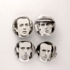 The Clash Pins London Calling Buttons Punk Rock Badges by JeepsterVintage on Etsy