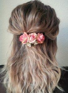 Haarspange diy auf sonofabeach.de :)