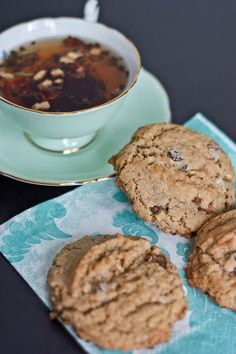 Chai Oatmeal Raisin Cookies. | Om-noms | Pinterest | Oatmeal Raisin ...