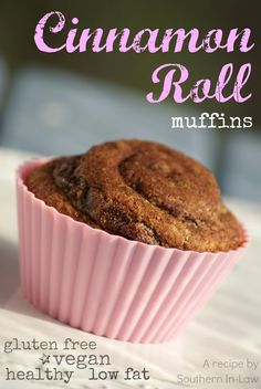 ... Roll Muffins (easily GF and vegan!) - Healthy, low fat, gluten free