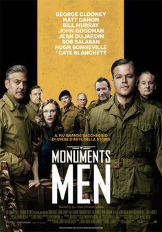Monuments Men Un film di George Clooney. Con George Clooney, Matt Damon, Bill Murray, John Goodman, Jean Dujardin. USA, Germania 2014.