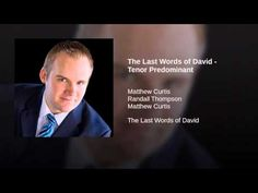 The Last Words of David - Tenor Predominant