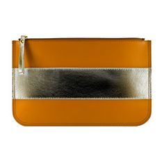 Hand Clutch Caramel Gold now featured on Fab.