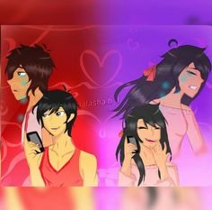 When aphmau said I just need some one to talk to I yelled out loud Aaron!!!!! My friend likes looked at me  but I didn't care