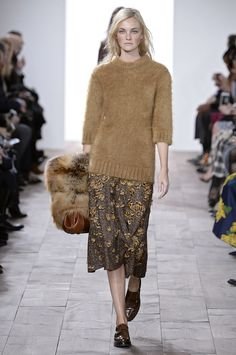 Highlights From New York Fashion Week Fall 2015  - ELLE.com MICHAEL KORS