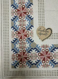 Cross Stitching, Cross Stitch Embroidery, Cross Stitch Patterns, Palestinian Embroidery, Cross Stitch Needles, Bargello, Cross Stitch Flowers, Christmas Cross, Needlepoint