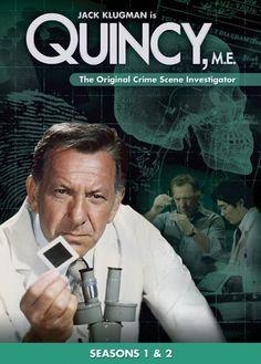 My favorite show growing up.  Quincy, M.E.  The original CSI.