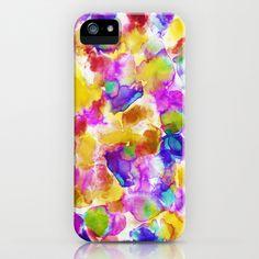Amaris Yellow iPhone Case