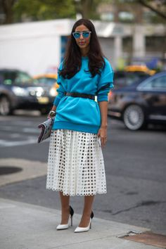 Dreaming of your spring wardrobe? Here are warm-weather street style looks to inspire your style this season.