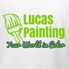 Painting Services T Shirt Design