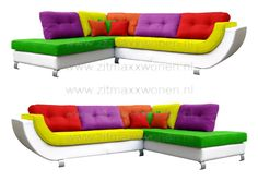 Retro loungebank Color Mix Joop  100 kleuren  zitmaxx.eu