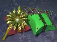 How to make Gift Pack or Jewelry Box by Paper Craft DIY Tutorial