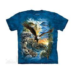Find 11 Eagles Felnőtt Amerikai The Mountain Póló