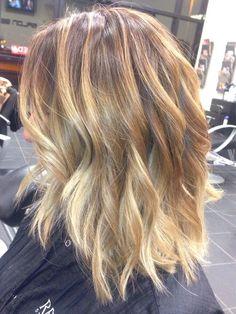 Salon 88 - Light Brown Base with Balayage Blonde Highlights - San Jose, CA, United States