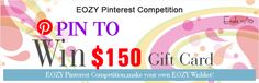 If you want to join us, please leave a message indicating that you are willing to join us.  for more information, please click this website http://www.eozy.com/pinterest-gift-card