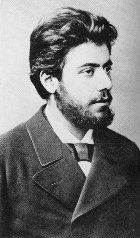 Mahler at 21 and bearded