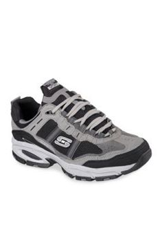Skechers GrayBlack Mens Vigor 2.0-Trait Sneakers