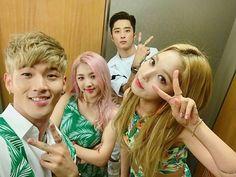 K.A.R.D - BM, Jiwoo, J.Seph and Somin