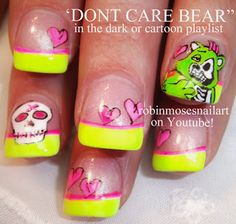 153 Best Cartoons Logos Faces Nail Art By Robin Moses Images On