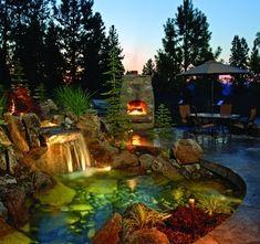 gorgeous backyard  (don't wake me up, I'm dreaming)