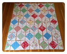 Love this pattern and the way to use the scraps. It would also be great for an eye spy quilt.