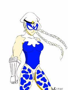 cammy(street fighter)/dove(dc comic)