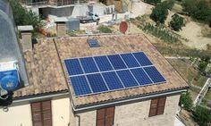Impianto fotovoltaico ad ANCONA da 4,90 kWp su copertura - 20 moduli SCHUCO in SILICIO CRISTALLINO da 245 Wp