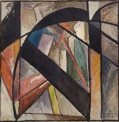 Albert Gleizes (French, 1881-1953) - The Brooklyn Bridge, 1915