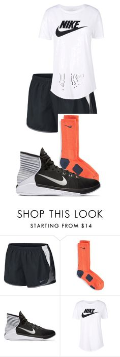 """Basketball Tryouts"" by megaspirit on Polyvore featuring NIKE"