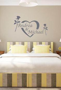 für jedes pärchen geeignet #love #wandtattoo #valentinstag ... - Wandtattoo Schlafzimmer