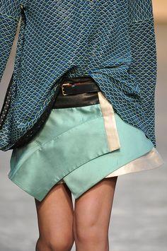 Proenza Schouler F/W 2012 - ces couleurs !! ces matières/textures !!!