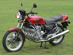 Honda CBX.  Looks ludicrous!