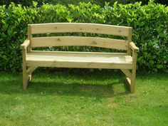 Image result for wooden garden bench