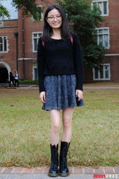 Classic College Looks Done the Cool Way: The Sweetest Street Style Snaps from Southern Schools