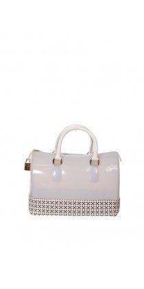Furla Beyaz Plastik Çanta