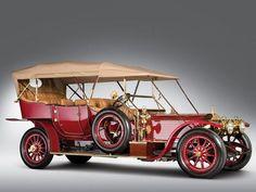 1911 Rolls-Royce Silver Ghost Seven-Passenger Roi des Belges.