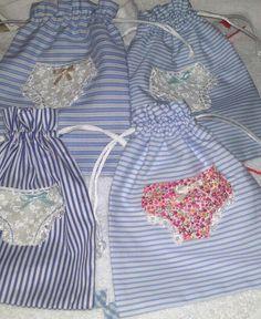 POPURRI: Bolsitas para la ropa interior
