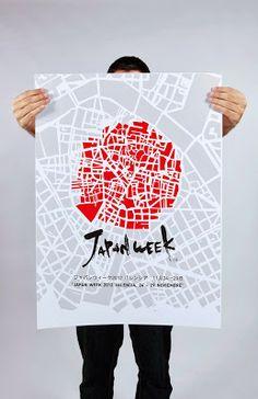 ✈ Fish Fresh Design + Illustration for Cartel Japan Week ✈ Japan Design, Web Design, Layout Design, Print Design, Logo Design, Poster Art, Typography Poster, Typography Design, Emigre Magazine