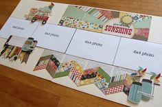 SCRAPBOOK GENERATION: Super-Saver Scrapbooking layouts for June