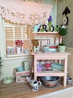 My Miniature Madness: Auntie Jackie's Potting Shed