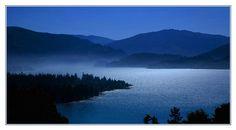 ...at the lake. This made me think of my summers at Lake Cushman with my Krystal. :-)