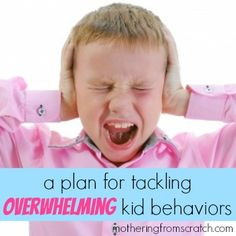 A practical plan for tackling difficulty and overwhelming child behaviors, such as anger and frustration.