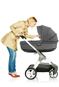 Stokke Crusi: The flexible comfort stroller -- This will be the stroller I get.