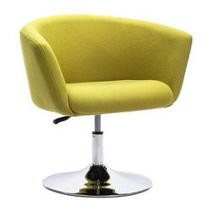 Zuo Modern 500343  Umea Occasional Chair  in Pistachio Green