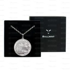 2012 Armenian Silver Noah's Ark 1oz Pendant- COIN EDGE in a Bullmint display box