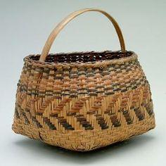 Cherokee River Cane Basket,