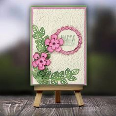 Birthday's are time to rejoice!!! Spread the cheer with 'Handmade '.... A pretty thin cut die card idea by Itsy Bitsy. ‌#madewithlove #madewithitsybitsy #indian #indiancraftstore #indian #craftstoreinindia #craftsupplies #craft #creativity #papercraft ##gift #decor #hobby #artists #art #cardmaking #card #project #ideas  #beautiful #specialfriend #love #lovequotes #itsybitsyindia #new #indianstore #inspiration