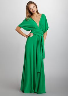 Love this dress, love this color!  By Von Vonni...